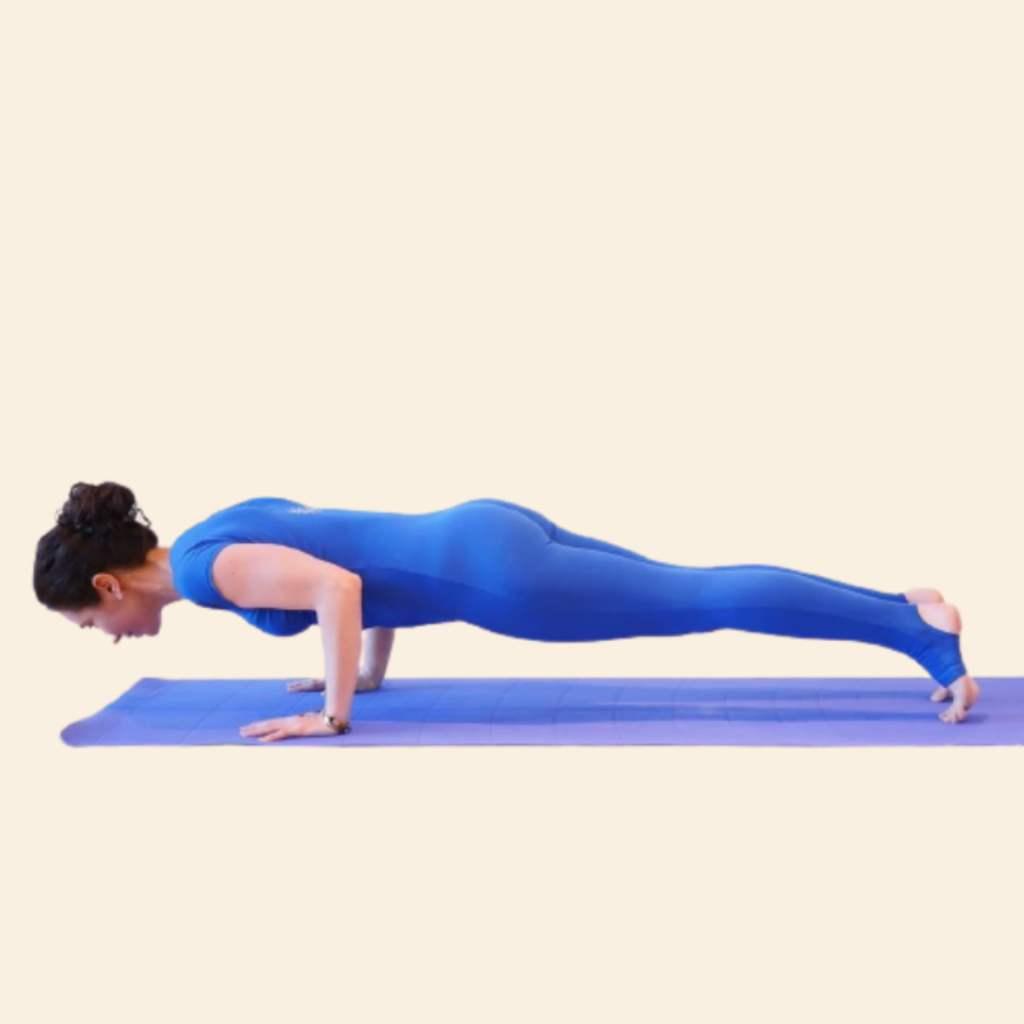 Chaturanga Dandasana (Four Limbed Staff Pose) Steps and Benefits - Fitzabout