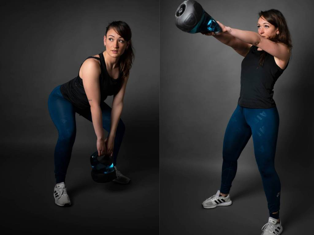 Kettlebell or dumbbell swing exercise steps and benefits - Fitzabout