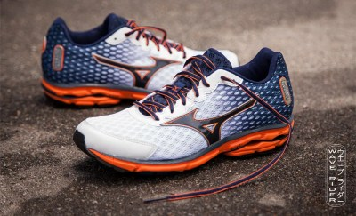 mizuno wave rider 18 blue orange