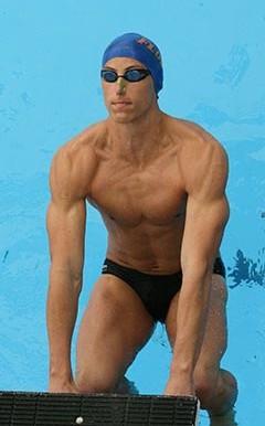 Pro swimmer Rex Tullius