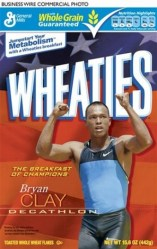 Wheaties Honors Newest American Champions Nastia Liukin and Bryan Clay