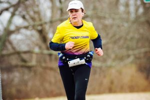 Racey Runner: Sandy Beagan