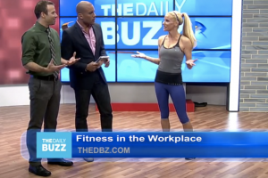 Fitz Talks Workouts in the Workplace with The Daily Buzz