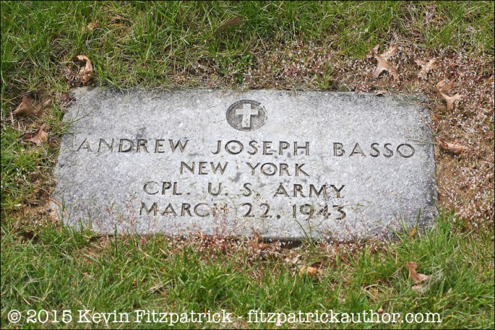 Andrew J. Basso, N.V.A. Burial Grounds