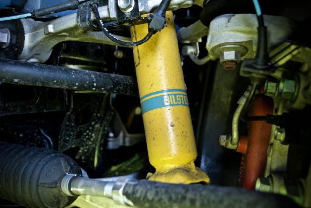 Abarth 124 suspension Bilstein