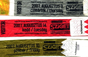 Sziget 2007 tickets