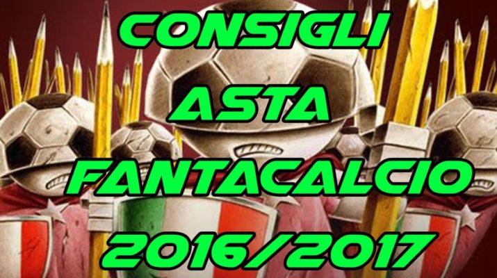 Consigli Asta Fantacalcio 2016-17