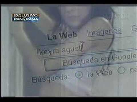 Webcam girl: Julieta Machado (alias Pan Dulce - Agustina - Keira)
