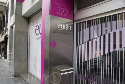 Extérieur de la clinique Eugin
