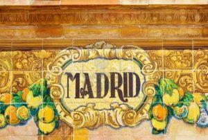 plaque madrid