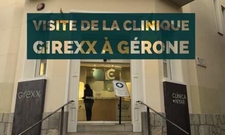 Visite de la clinique espagnole Girexx à Gérone