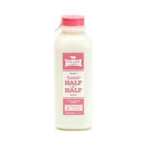 Half and Half bottle - Five Acre Farms