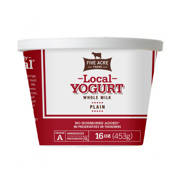 Plain Yogurt 16 oz