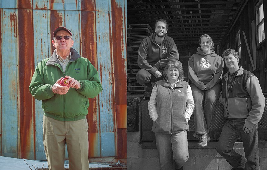 Left: Rod Dressel Sr.. Right: The rest of the Dressel Clan; Tim, Debbie, Sarah, and Rod Jr..