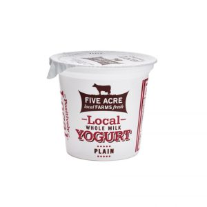 Local Plain Whole Milk Yogurt 6oz.