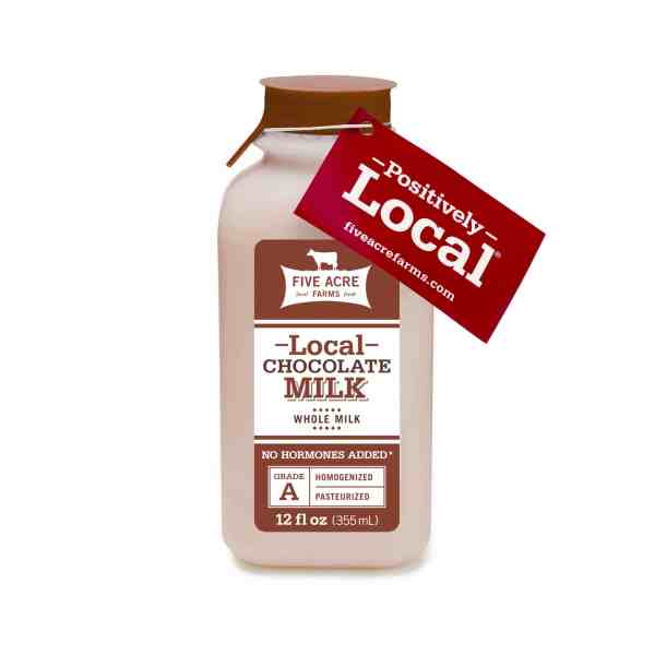 Chocolate Milk Five Acre Farms 12 oz