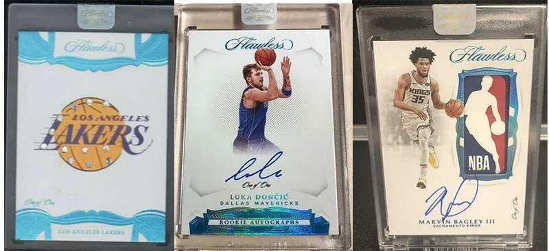 2018-19 Panini Flawless Basketball cards