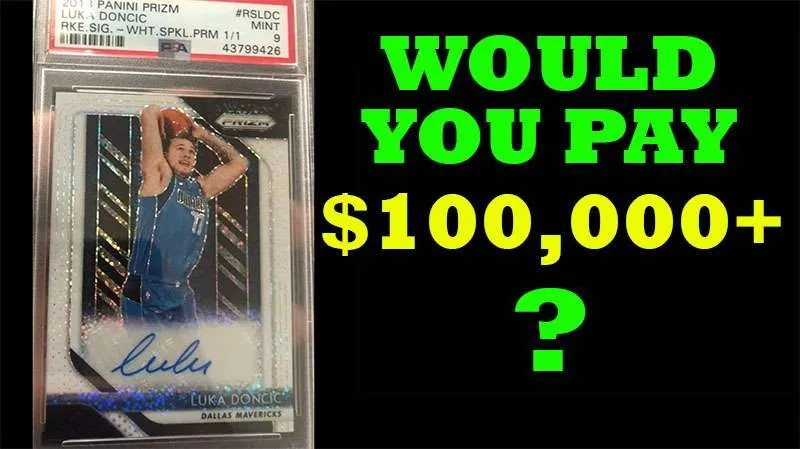 Most Expensive Basketball Cards Video