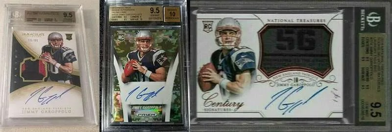 Jimmy Garoppolo best rookie cards