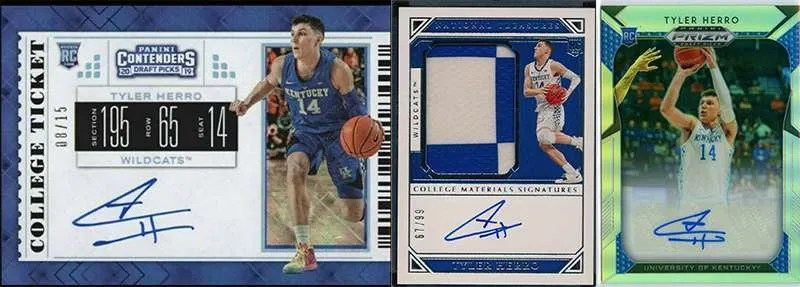 Tyler Herro rookie cards