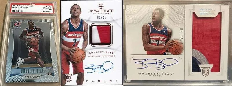 Bradley Beal best rookie cards