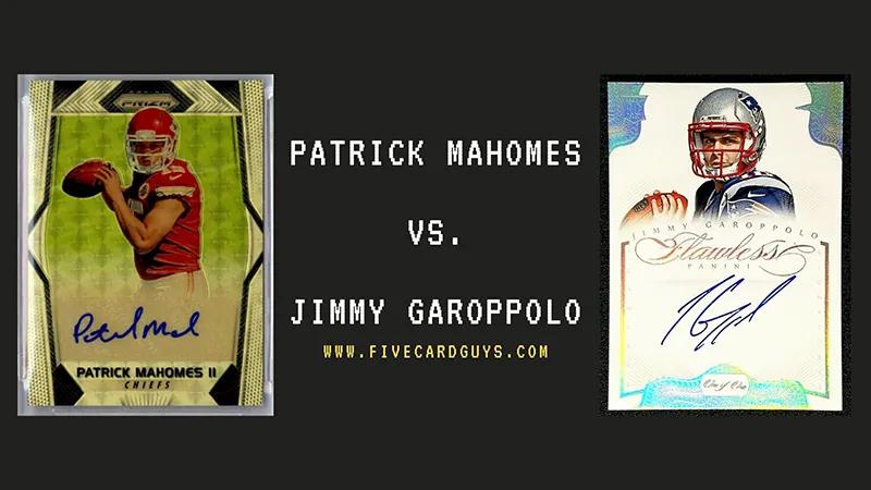 Patrick Mahomes vs Jimmy Garoppolo