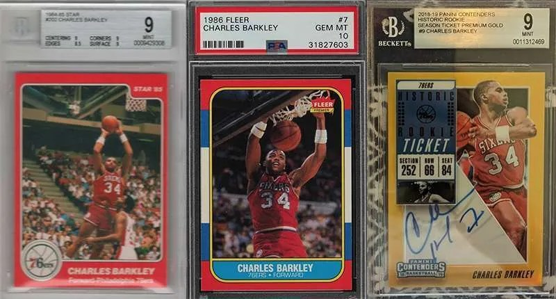 Charles Barkely best basketball cards