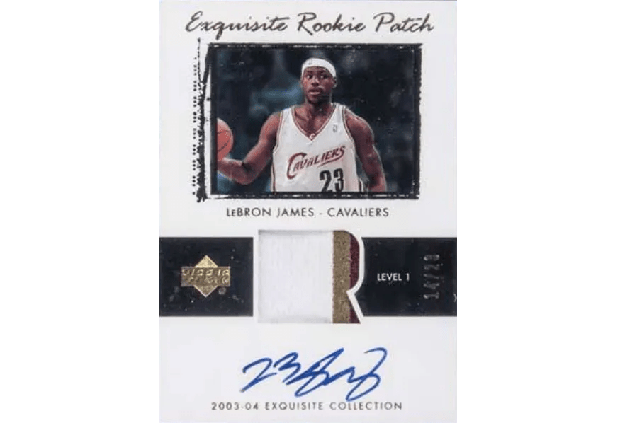 Lebron James Has Couple Of Own Autograph Rookie Cards That Just Sold For Nearly 2m Fivecardguys