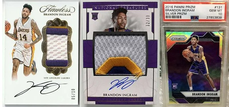 Brandon Ingram Rookie Cards