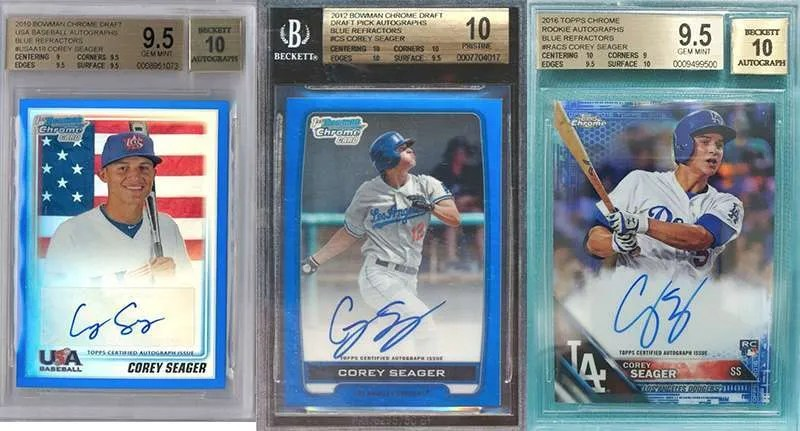 Corey Seager Top Rookie Cards