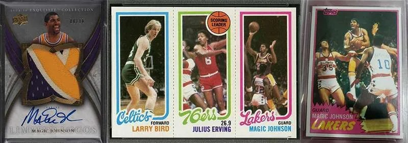 Magic Johnson rookie cards