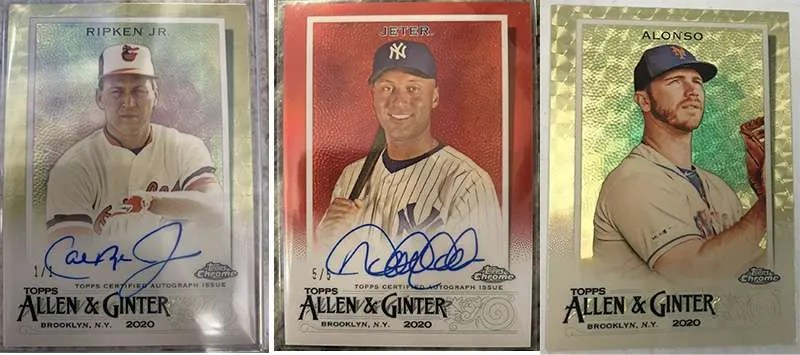 2020 Topps Allen Ginter Chrome Hits