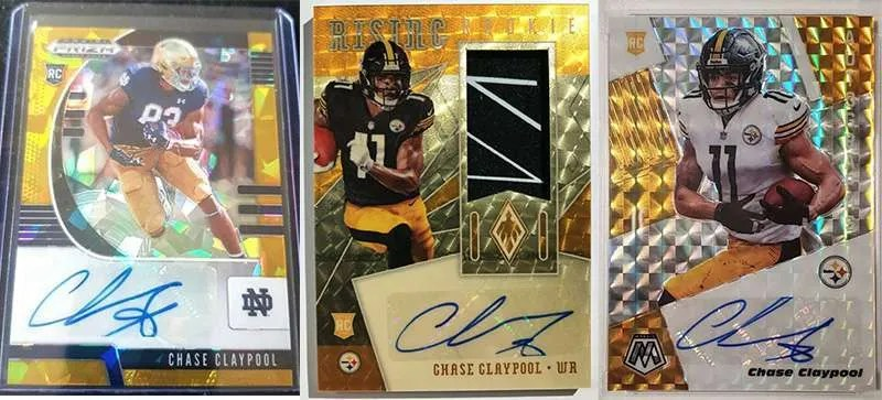 Chase Claypool top rookie cards