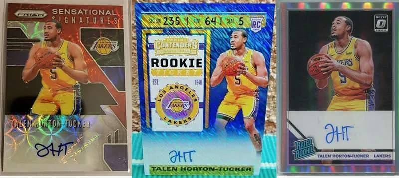 Talen Horton Tucker Rookie Cards