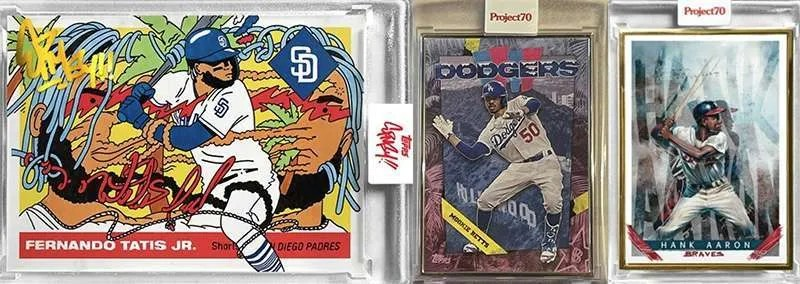 Topps Project70 baseball cards
