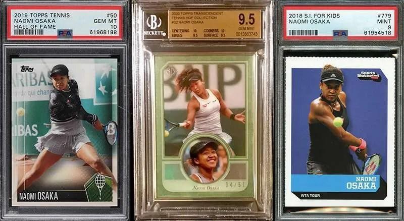 Naomi Osake rookie cards