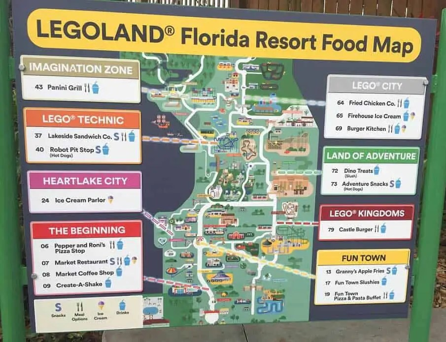map of legoland in florida park