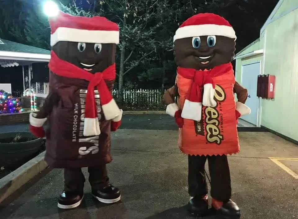 Christmas at Hersheypark