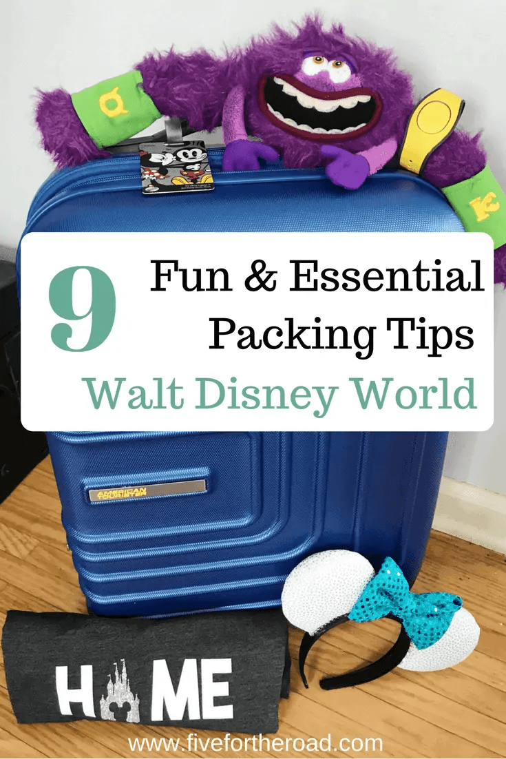 packing tips for disney world luggage