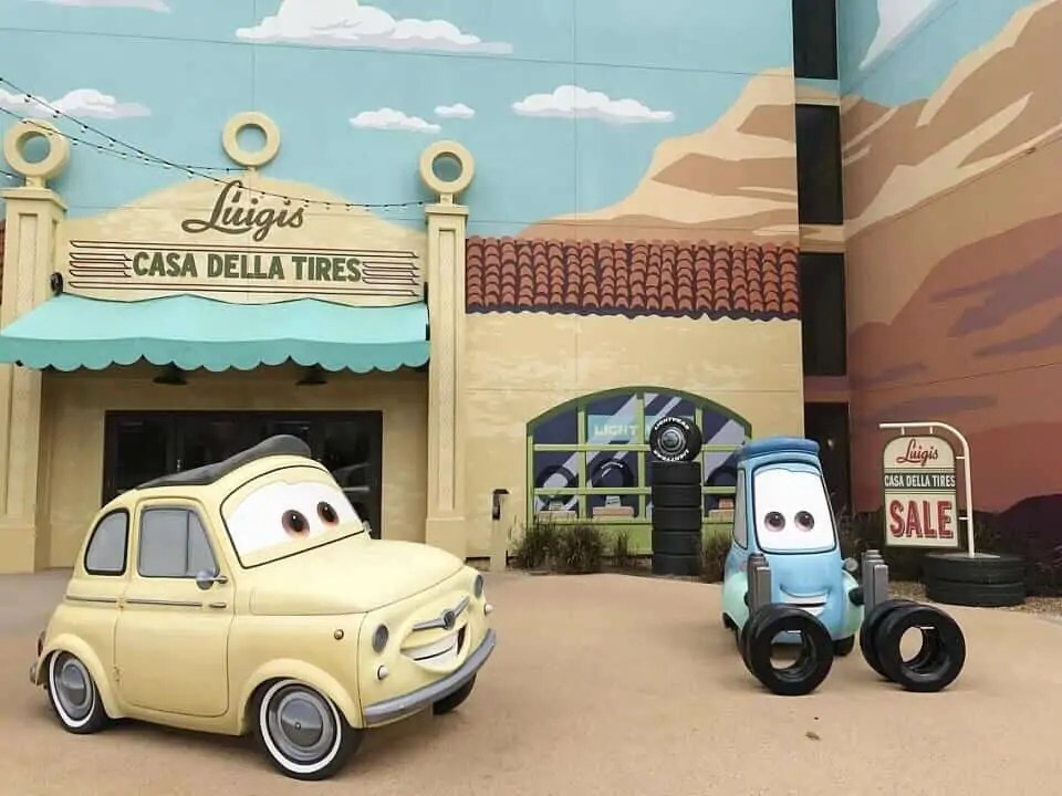 cars at art of animation resort