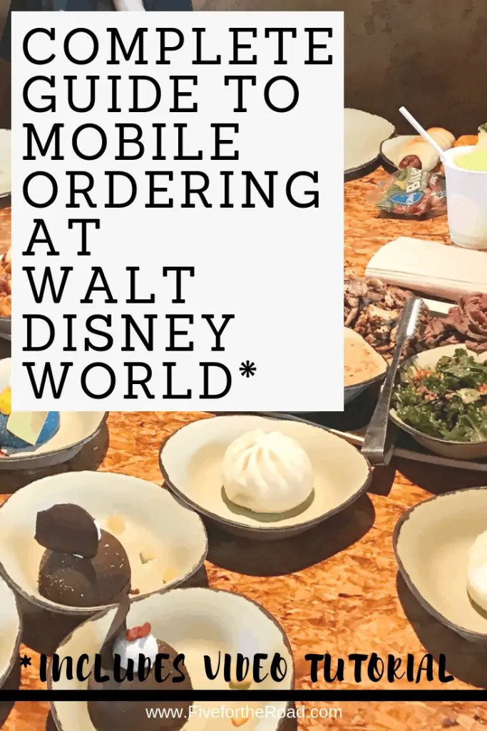 mobile ordering at disney world
