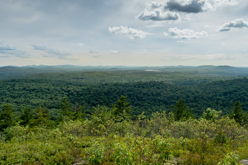 360 Degree Summit View - Coney Mountain Trail - Five Happy