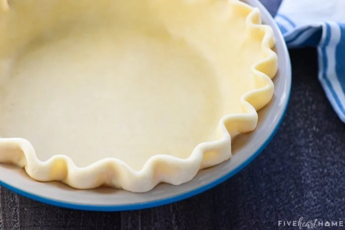 The Best Butter Pie Crust Flaky So Easy Fivehearthome