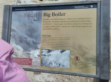 Big Boiler, the hottest fumarole in the world