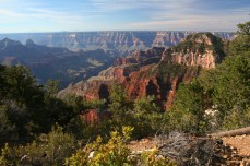 The Grand Canyon from North Rim lodge