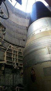 The Titan II in its silo