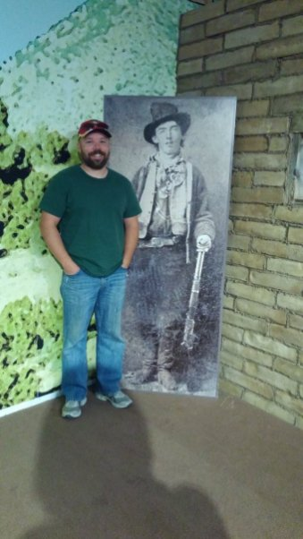 Hanging out with Billy the Kid