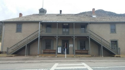 """""""The House"""" - Murphy's store and later the Courthouse"""