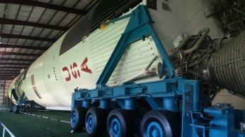 A real Saturn V rocket