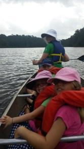 Canoeing on Lake Raven, Huntsville State Park